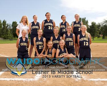 2013 Lesher Softball 808