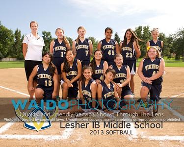 2013 Lesher Softball 817