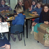 Kids doing crafts in my class at Greystoke