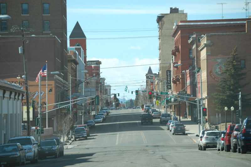 Downtown Butte MT