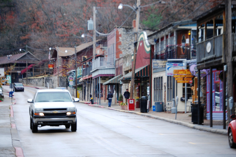 Downtown Eureka Springs AR