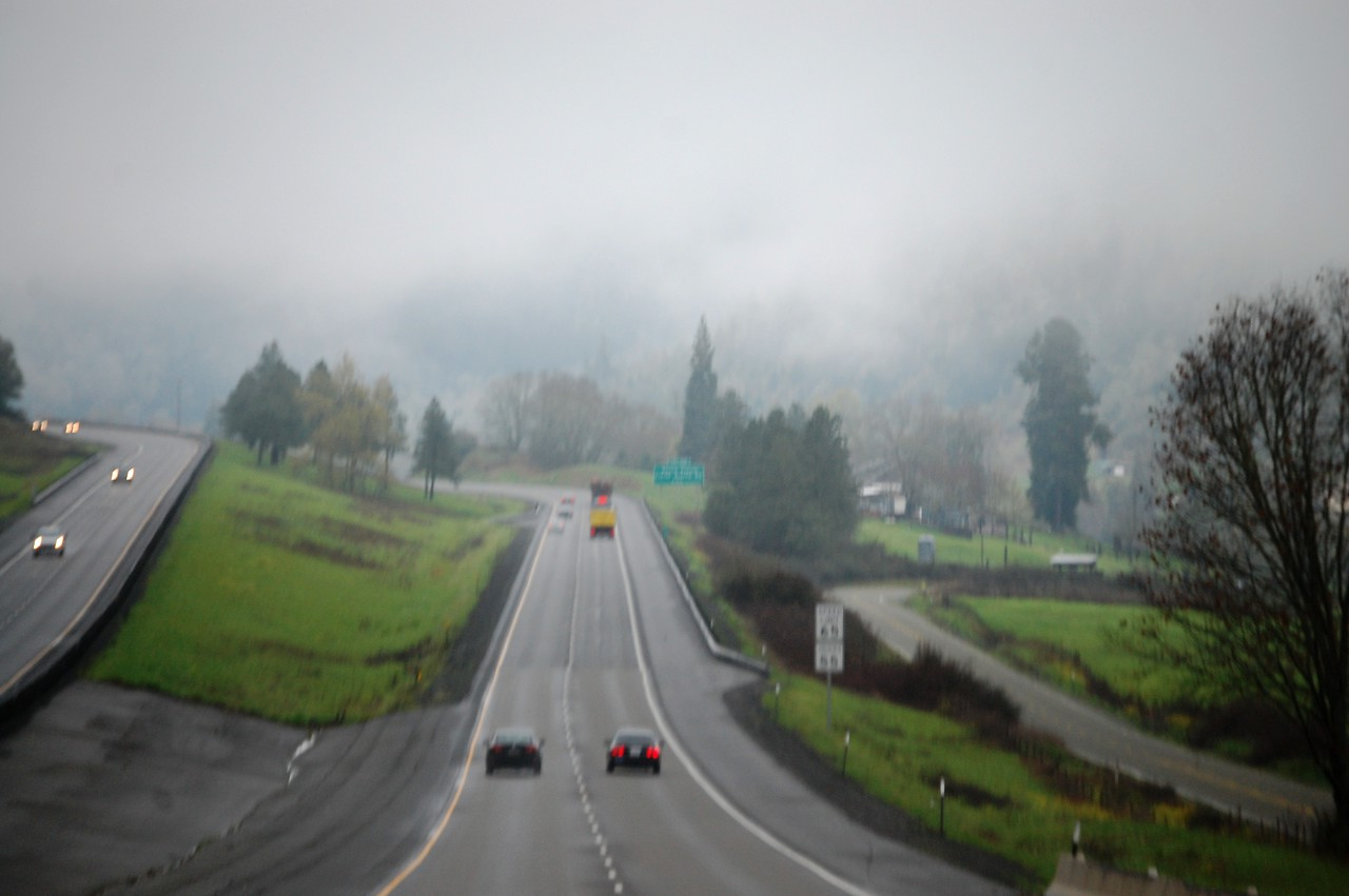 I 5 N of Roseburg OR