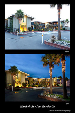 My client, the company Pacific Plaza Hotels, in Alameda CA. had 14 Best Westerns.  We decided to go for the theatrical, dramatic, transformative look on all their properties.  Occupancy is up!  Which photo do you feel depicts a place you'd like to stay in?  These photos are not taken, they are carefully crafted, using extensive photo lighting and the right time of day.