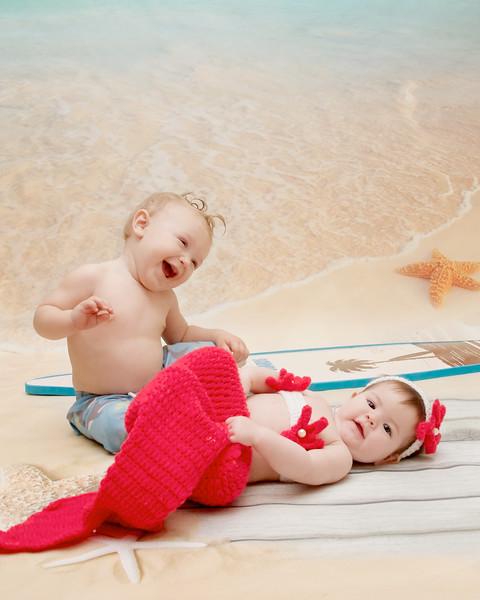 Mermaid Lea & Surfer Luke