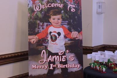 JAMIE MICHAEL 1ST BIRTHDAY