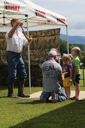 """Let's Get Wild""  - Outdoor Education For The Next Generation visits Bargain barn in Jasper Georgia. Photography By: Lloyd R. Kenney III © 2014 All Rights Reserved. Contact Info: LloydKenneyiii@gmail.com"