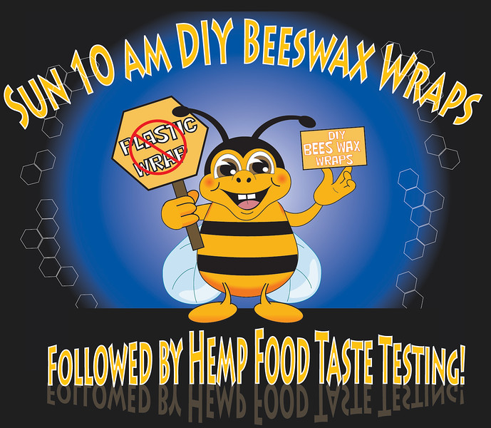 DIY Bees Wax Wraps with Jess Crouse at 10 AM