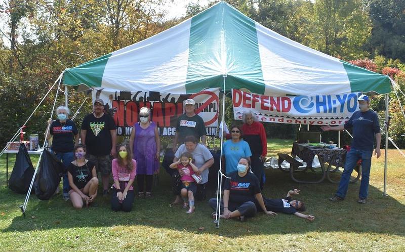 Defend Ohi:yo' 2020 Let's Go Camping 2020