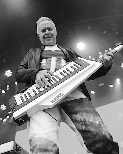 Howard Jones at Lets Rock Southampton 2017