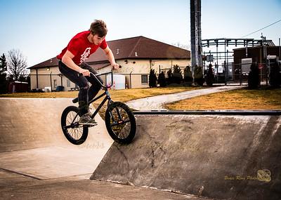 Grove City Skate Park 2/7/2016