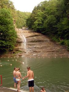 Buttermilk Falls.