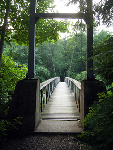 Stevens Cable Bridge