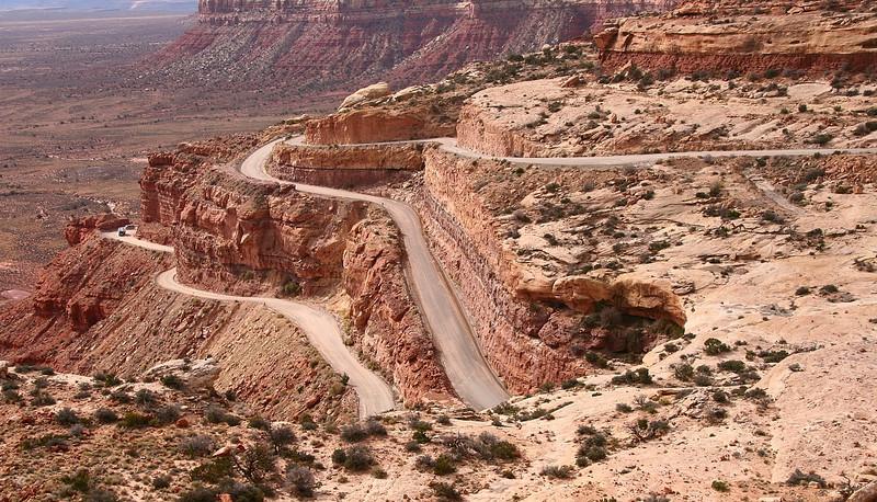 Moki Dugway - State Route 261 - San Juan County - Utah