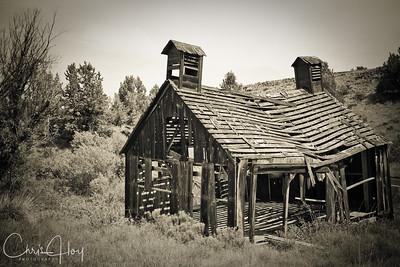 Old Homestead near Shaniko, Oregon