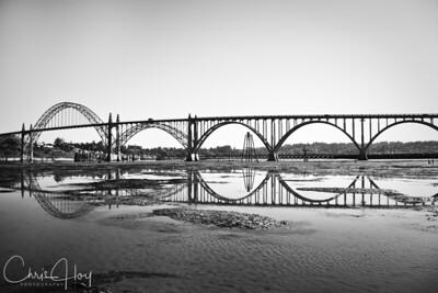 Yaquina Bay Bridge, Newport, Oregon  EXHIBITED: 2010 Oregon State Fair