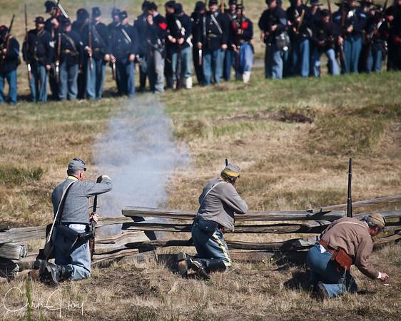 Civil War Re-enactment, Fort Stevens State Park
