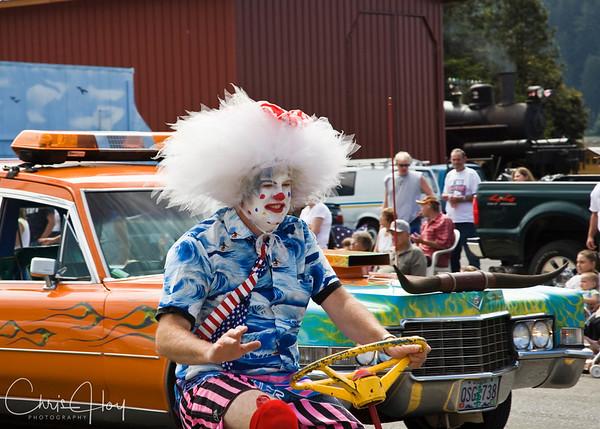 Astoria Clown at Garibaldi Days 2007