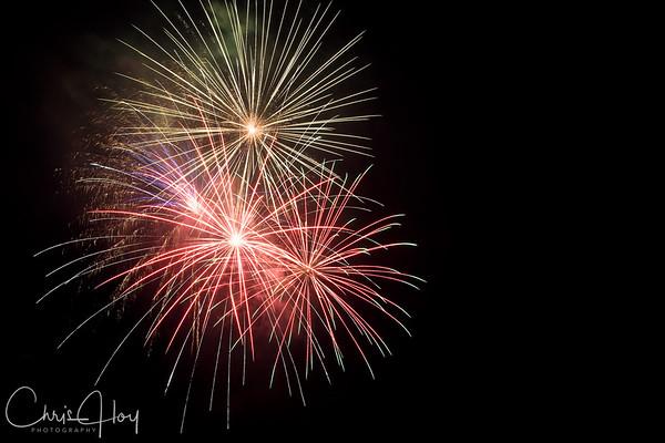 Fireworks, 4th of July 2008, Albany, Oregon