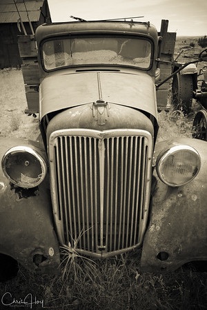 Old Car, at Shaniko, Oregon