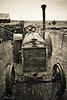 Old Tractor at Shaniko, Oregon