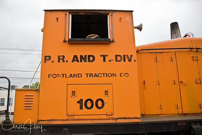P.R. and T. Div -Portland Traction Co. 100