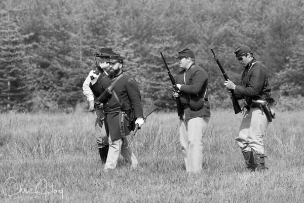 Civil War Re-Enactment, Lebanon, Oregon May 2008