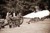 Civil War Re-Enactment - July 5, 2010 -- Willamette Mission State Park -- NWCWC (Northwest Civil War Council)