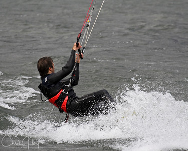 Kite Surfing at Hood River, Oregon