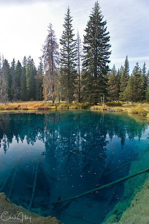 Little Crater Lake, Oregon
