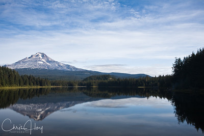Mt. Hood as seen from Trillium Lake
