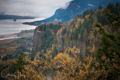 Vista House - Crown Point, Columbia Gorge, Oregon