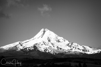 Mt. Hood as seen from Parkdale, Oregon