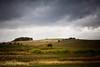 Ominous Fall Sky on Livermore Road, Near Baskett Slough National Wildlife Refuge