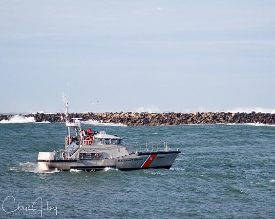 US Coast Guard, Yaquina Bay, Newport, Oregon