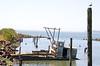 Oyster Dredge at High Tide