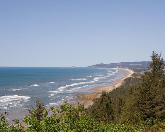 Beautiful Day on the Oregon Coast