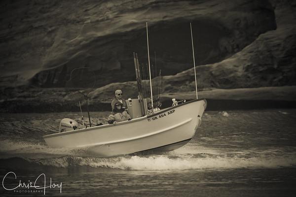 Dory Boat, Pacific City, Oregon