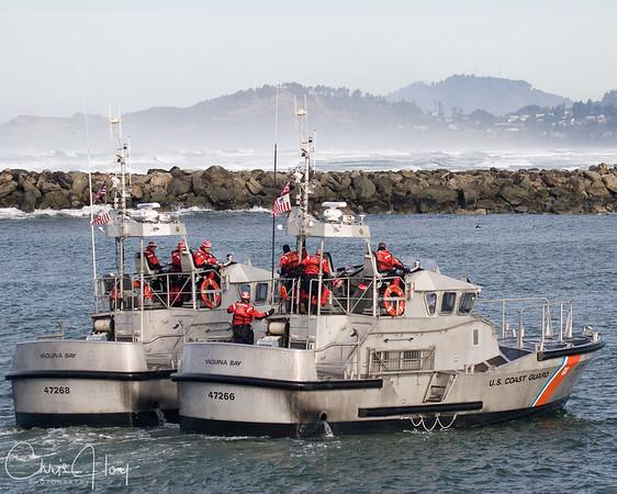 Coast Guard, Yaquina Bay
