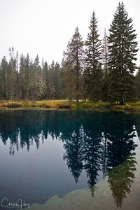 Little Crater Lake, Mt. Hood, Oregon