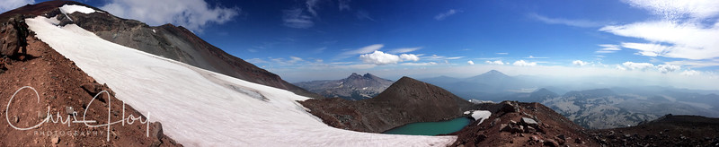 View from South Sister (Charity)
