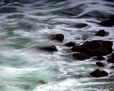 Stormy Boiler Bay - Oregon Coast