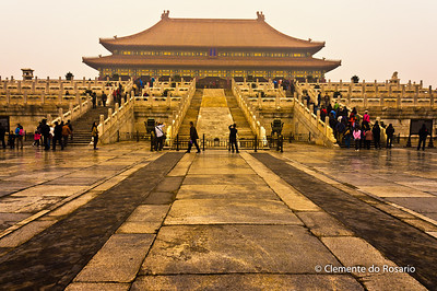 Forbidden City complex, Beijing,China