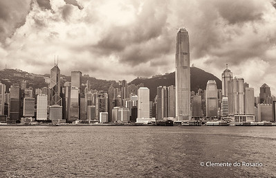 Hong Kong Island skyline from Kowloon File Ref:2012-06-25-Hong Kong 114 1723