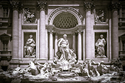 Fontana di Trevi,Rome, Italy