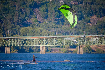 Kite Surfing, Hood River, Oregon