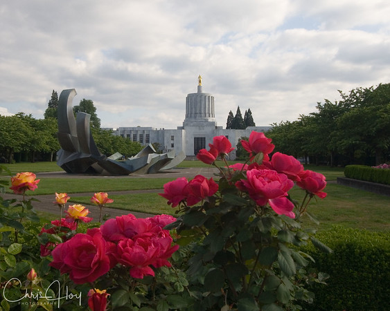 Oregon State Capitol Building, Salem, Oregon