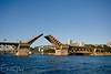 Sunrise Bridge Lift<br /> Morrison Bridge<br /> Portland, Oregon