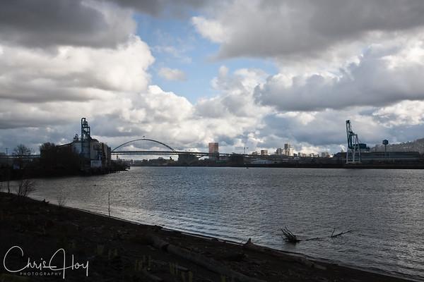 Willamette River - Portland Oregon