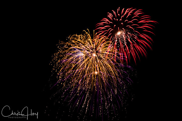 Fireworks, 4th of July 2009, Corvallis, Oregon
