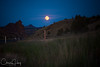Full Moon over Central Oregon